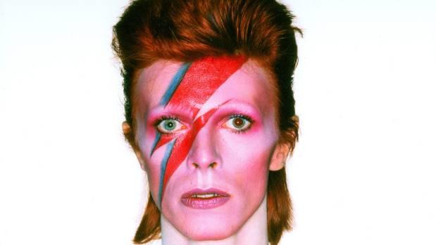 David Bowie's Alladin Sane persona.