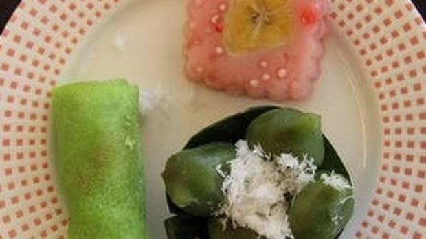 Indonesian desserts.
