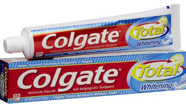 Colgate Total still uses tricolsan, an antibacterial chemical that has not been proven safe.