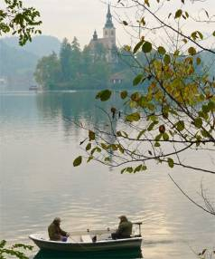 POLISHED JEWEL: If the fish don't bite, the setting of Lake Bled more than makes up for it.