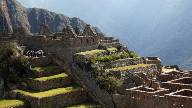 ON THE TRAIL: The Inca citadel of Machu Picchu in Cuzco