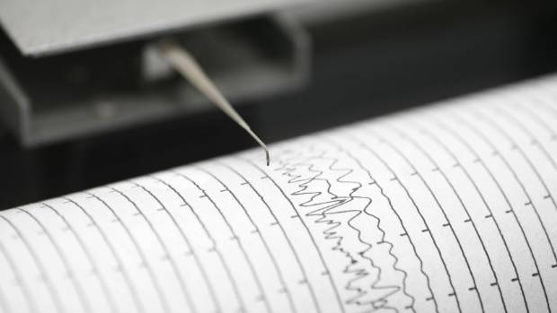 4.1 magnitude quake in Wellington.