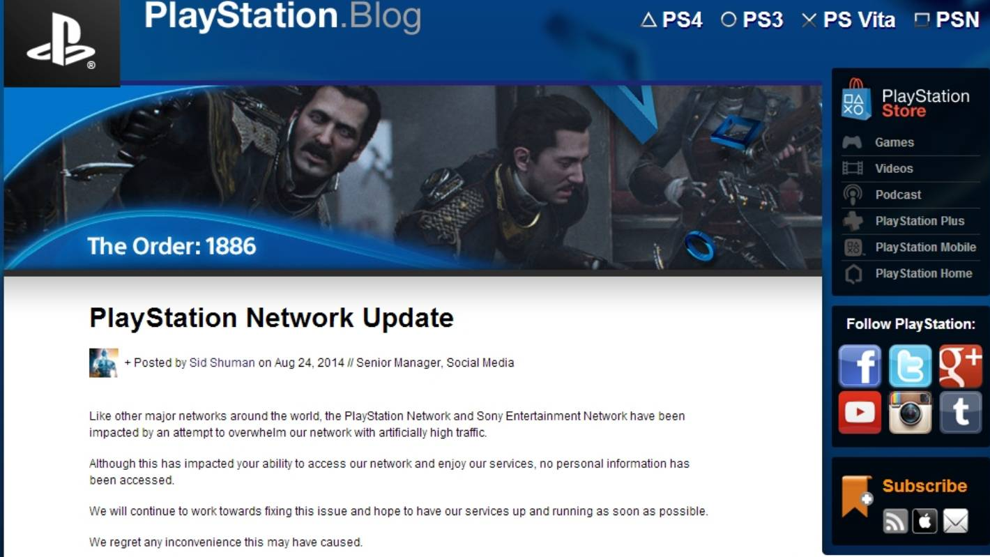 Sony apologizes for PlayStation breach, offers