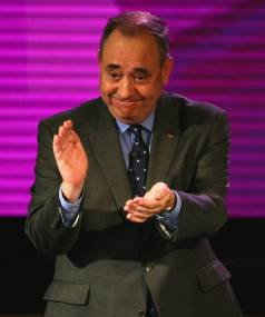 YES OR NO?: Polls show support for Scottish independence changed little despite pro-Scotland leader Alex Salmond's ...