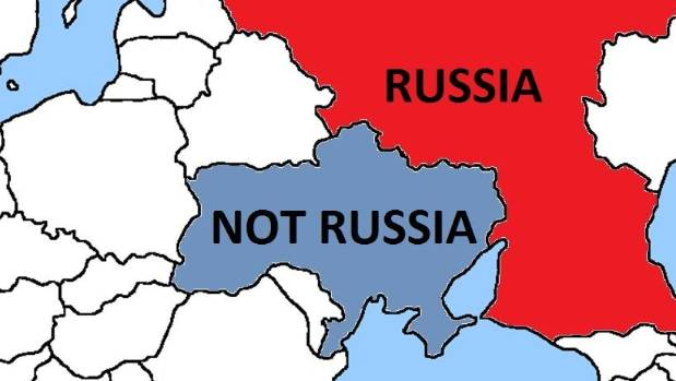 MOCKING: Canada's geography lesson for Russia.