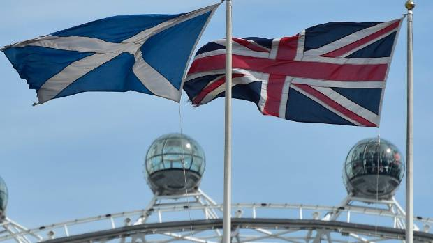 CLOSE RACE: Scotland goes to the polls on September 18 for a referendum on independence, and the gap is down to six per cent.