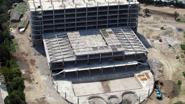 Construction abounds in the North Korean capital of Pyongyang, which is becoming increasingly modern while the rest of ...