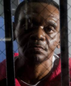 CONDEMNED TO DIE: Henry McCollum is seen on death row last month.
