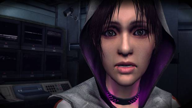 A scene from the video game, Republique.