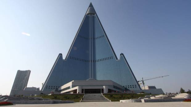 The Ryugyong Hotel in Pyongyang is the world's tallest unoccupied building.