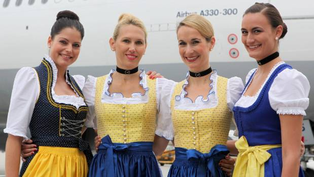 Oktoberfest 2014: Are the New Dirndls!