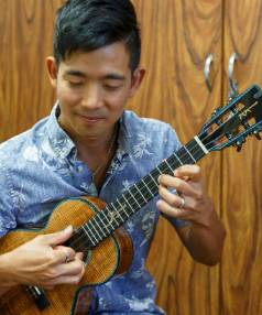 VIRTUOSO: Ukulele maestro Jake Shimabukuro performs a four-string rhapsody.
