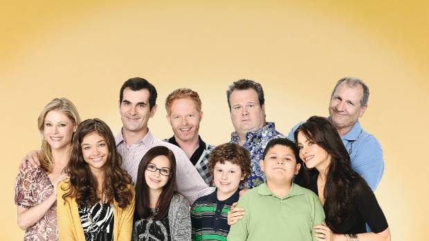 The cast from Modern Family.