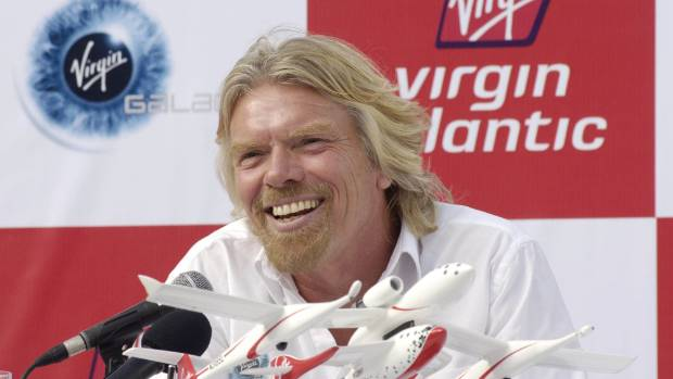 Richard Branson has worked out of a crypt, but never an office.