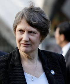 CHILDLESS BY CHOICE: Former Prime Minister Helen Clark.