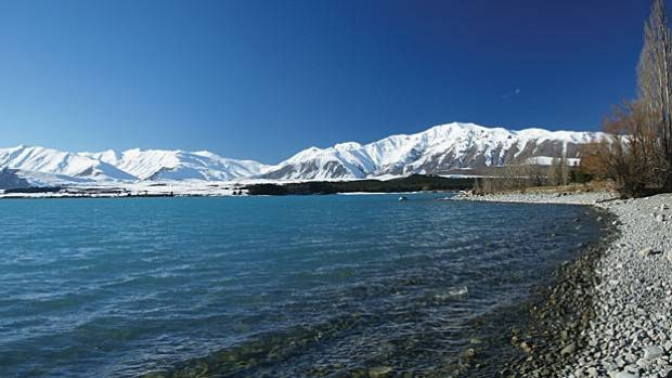SERENE: Lake Tekapo at its wintry best.