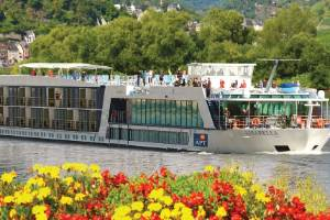 Sailing the Rhine gets you up close and personal to the landscapes.