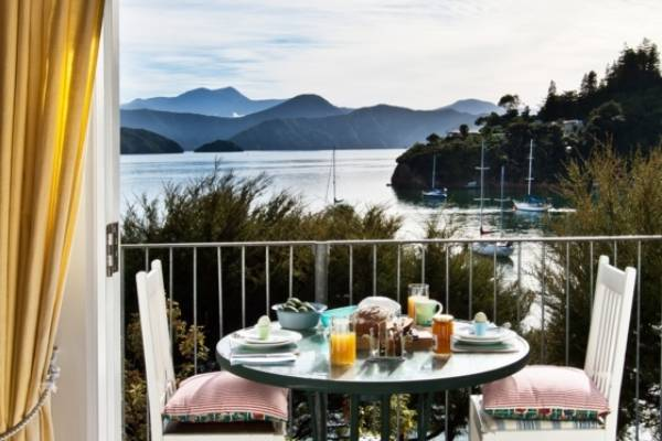 PRICELESS: Breakfast may set you back $20, but there is no price for that view.