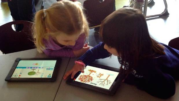 The ScratchJr app aims to prepare young children to learn coding.