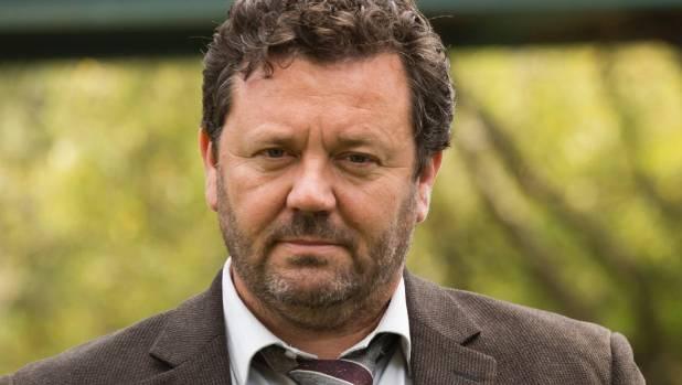 Neill Rea as DI Mike Shepherd in The Brokenwood Mysteries
