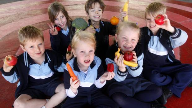 Marlborough children are big fans of fruit and veges, a new study shows.