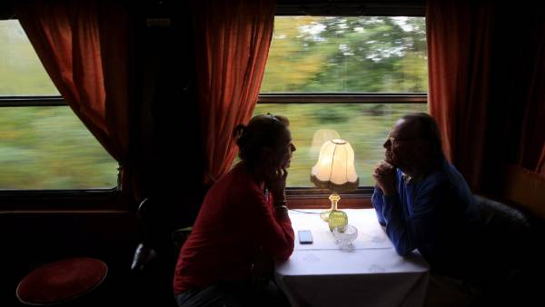 The train will take two weeks to wind through the 7000 km journey across the Balkans, the Bosphorus and eastern Turkey ...