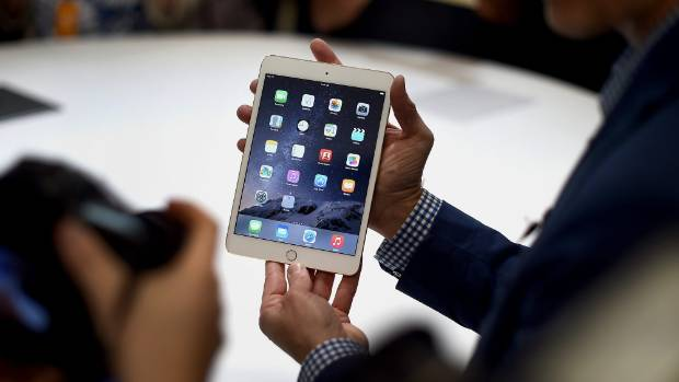 Disappearing trick: The new iPad mini 3.