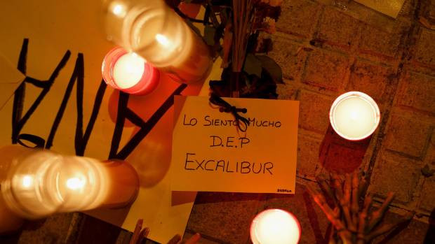 A memorial for Excalibur, the Spanish nurse's dog euthanised despite no evidence it had or could transmit Ebola. The ...