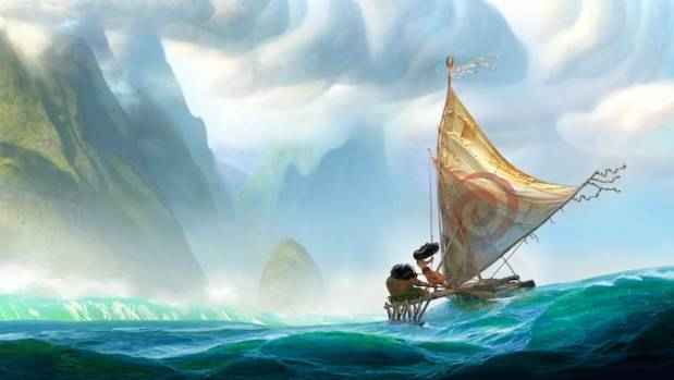 FROZEN IN THE SOUTH SEA: Disney has released the first pictures for Moana, the Polynesian princess.