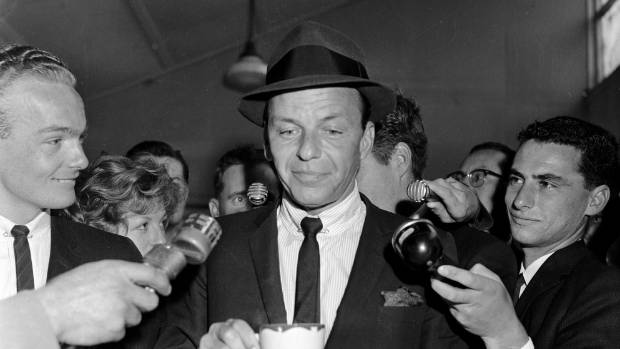 Successfully sneaking her away into a Washington party allowed Charlotte to spend the night schmoozing with Frank Sinatra.