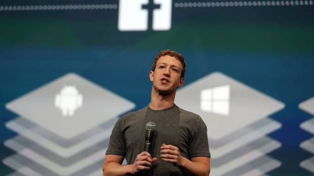 Facebook founder and chief executive Mark Zuckerberg says the planned feature would be a way for users to show empathy ...