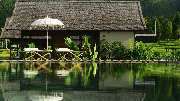 Sanak Retreat in Bali is peaceful and serene, a million miles away from the tourist resorts.