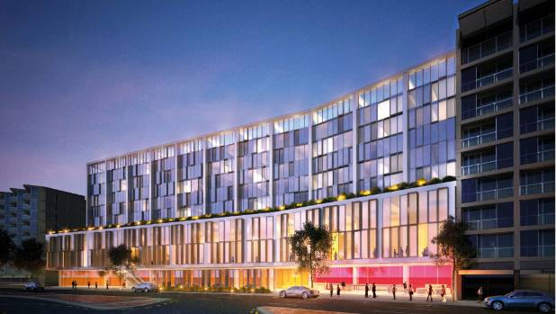 An artist's impression of what the new 165-bed Hilton Hotel and conference centre would have looked like.