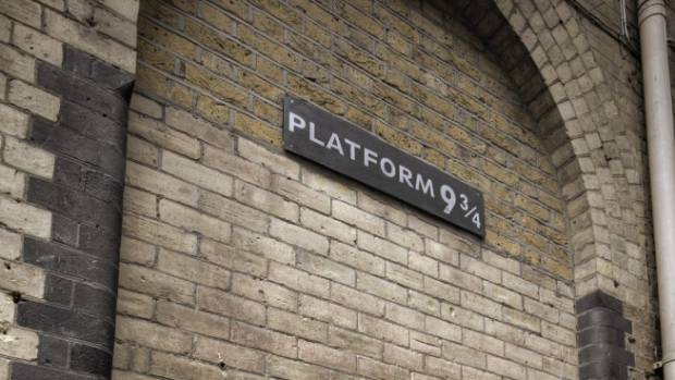Fans go Potty for the Platform 9 3/4 sign at King's Cross Station, but locals roll their eyes.