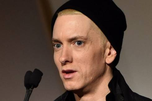 Why Eminem's face is making headlines   Stuff.co.nz