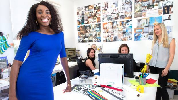 RENAISSANCE WOMAN: Venus Williams has four full-time professional designers at her V Starr Interiors firm, including, ...
