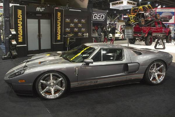 Chip Fooses Ford Gt At The  Sema Show In Las Vegas