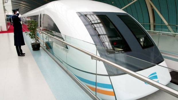 Shanghai Maglev which reaches speeds of 430 kph from the designated railway station to Shanghai's international airport.