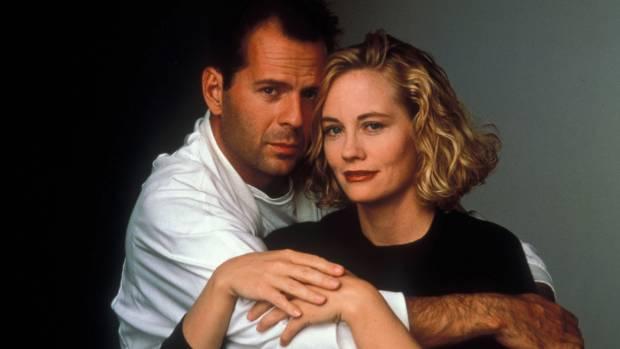 PERFECT MATCH: David Addison (Bruce Willis) and Maddie Hayes (Cybill Shepherd) in Moonlighting.