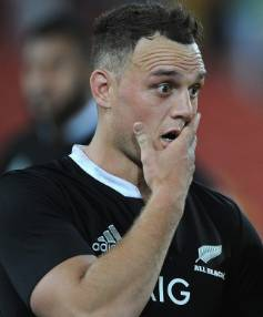 ALL BLACKS FULLBACK: Israel Dagg.