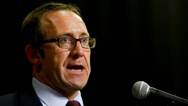 RESHUFFLE: New Labour leader Andrew Little.