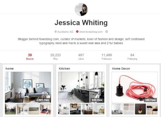 FOXES BLOG: Aka Jessica Whiting.