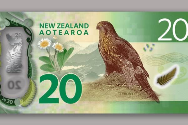 Back of the new $20 banknote.