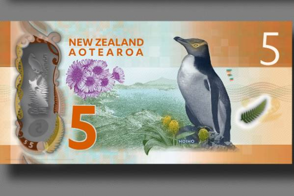 Back of the new $5 banknote.
