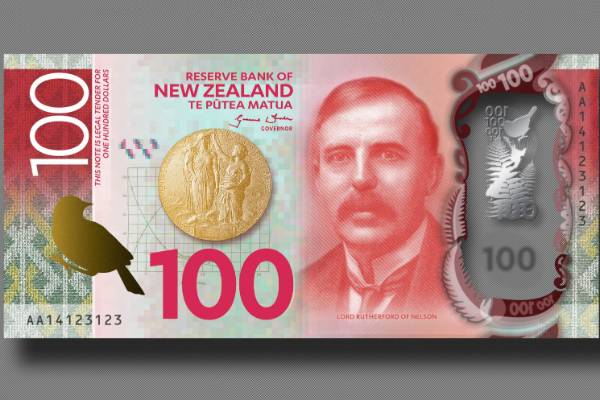 New $100 banknote.