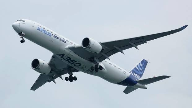 The standard Airbus A350-900 with 325 passengers has a range of only 15,000km.