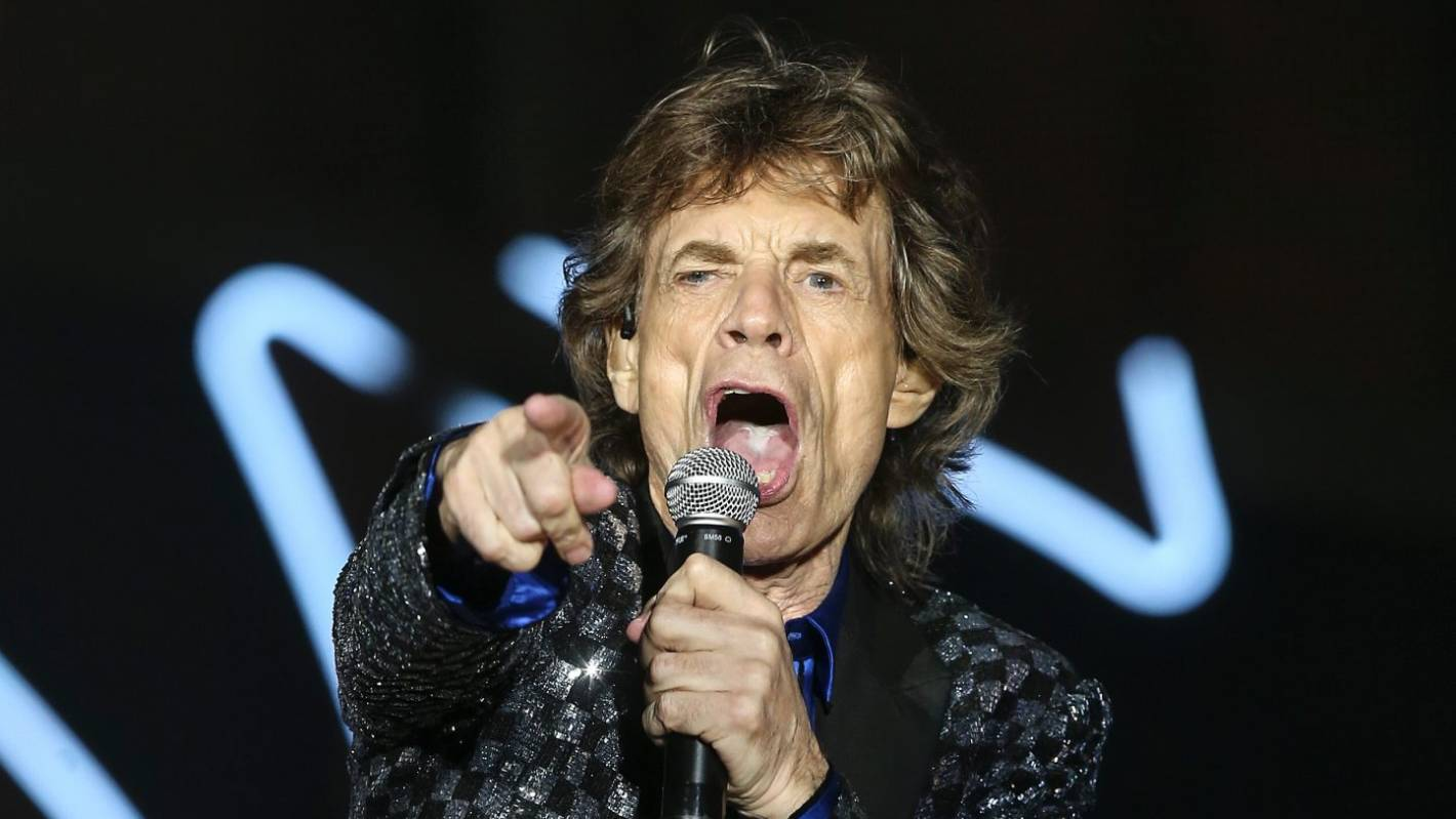 Mick Jagger: Mick Jagger Has The Genetic Goods