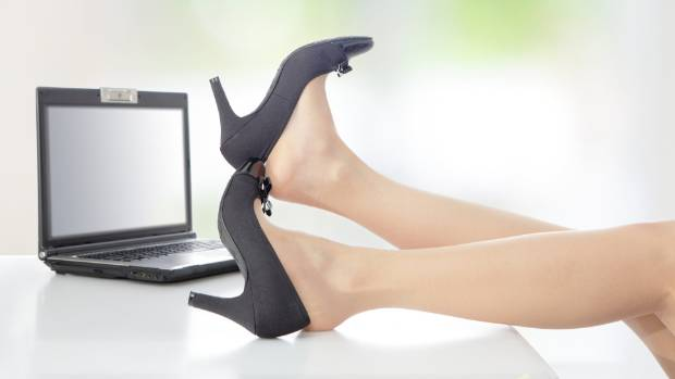 SORE FEET?: Heels do cause us some grief, but so do our genes.