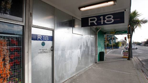 Christchurch bans R18 shops in suburbs | Stuff co nz