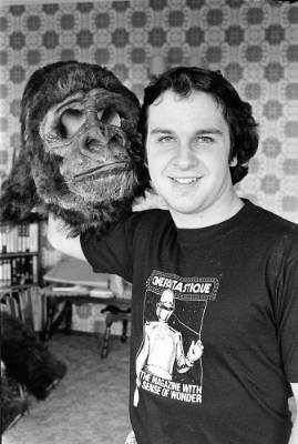 Lord Of The Rings film maker Peter Jackson and his Pukerua Bay King Kong in 1982.